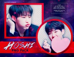 PNG PACK: Hoshi (Seventeen) by Hallyumi