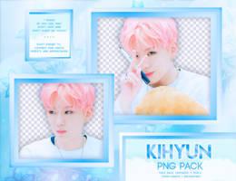 PNG PACK: Kihyun (MONSTA X) by Hallyumi