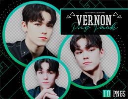 PNG PACK: Vernon (Seventeen) by Hallyumi
