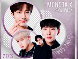 PNG PACK: MONSTA X #1 by Hallyumi