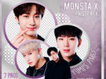 PNG PACK: MONSTA X #1
