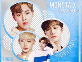 PNG PACK: MONSTA X #2 by Hallyumi