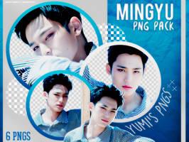 PNG PACK: Mingyu (SEVENTEEN) #1 by Hallyumi