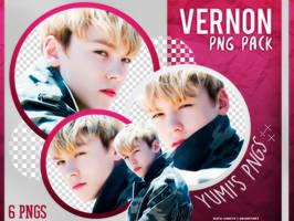 PNG PACK: Vernon (SEVENTEEN) #2 by Hallyumi