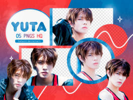 PNG PACK: Yuta #1 by Hallyumi