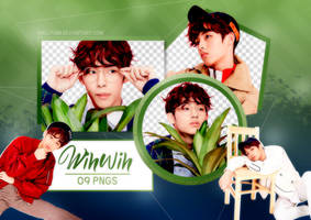 PNG PACK: Winwin #3 by Hallyumi