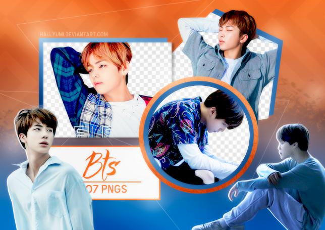 PNG PACK: BTS #13 by Hallyumi