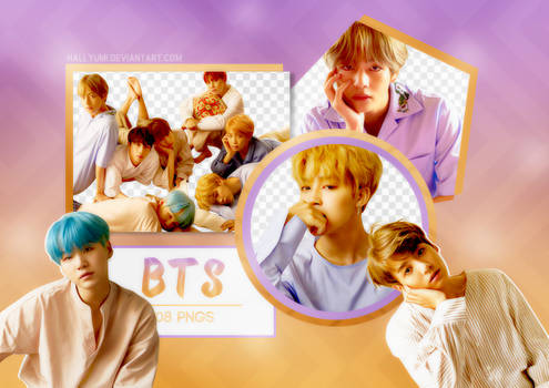 PNG PACK: BTS #19 ('HER' L version)