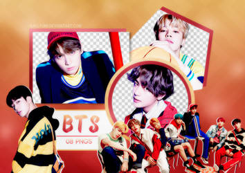 PNG PACK: BTS #21 ('HER' E version)
