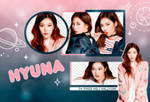 PNG PACK: HyunA #1