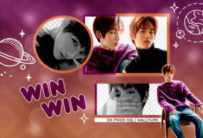PNG PACK: Winwin #4 by Hallyumi