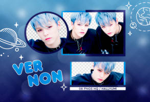 PNG PACK: Vernon #3 by Hallyumi
