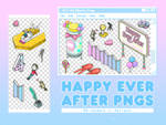 PNG PACK: Happy Ever After (BTS 4th Muster)