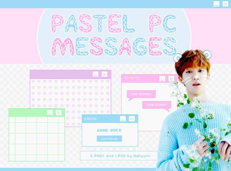 RENDERS: Pastel PC Messages