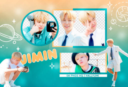PNG PACK: Jimin #12 by Hallyumi