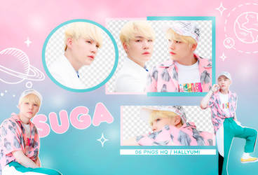 PNG PACK: Suga #6 by Hallyumi