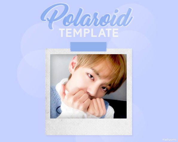 TEMPLATE: Polaroid by Hallyumi