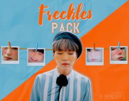 RENDERS: Freckles by Hallyumi