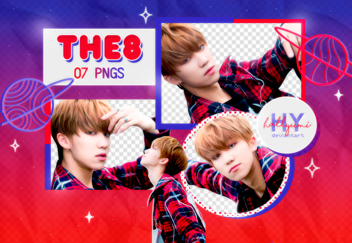 PNG PACK: THE8 #4 by Hallyumi