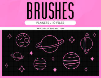 BRUSHES: Planets #2