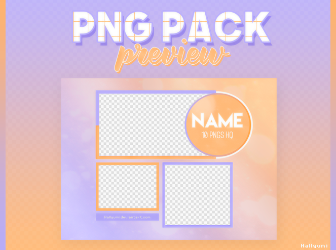 PSD: PNG Pack Preview #2 by Hallyumi