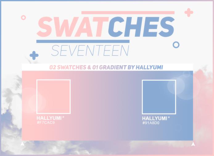 SWATCHES: SEVENTEEN by Hallyumi