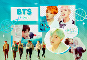 PNG PACK: BTS #38 (HYYH pt.2) by Hallyumi