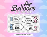 RENDERS: Air Ballons (BTS 4th Muster)