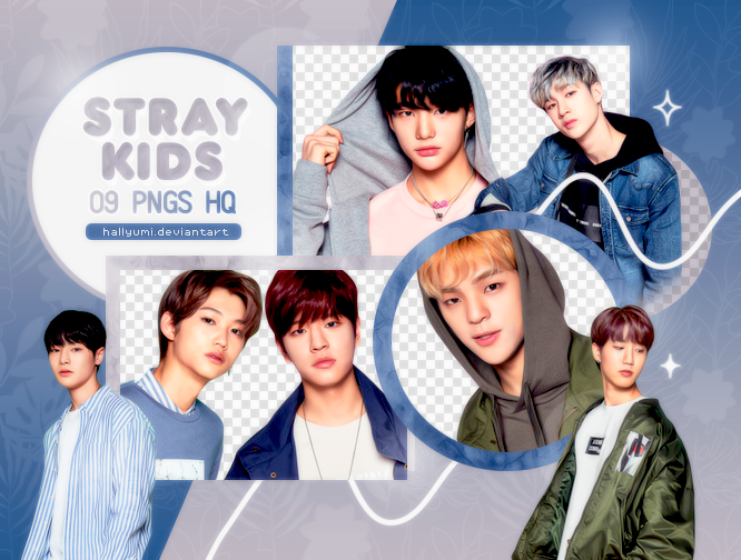 PNG PACK: Stray Kids #1 by Hallyumi