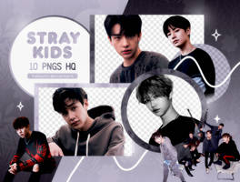 PNG PACK: Stray Kids #2 (I am Not) by Hallyumi