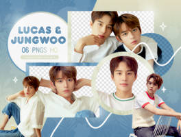 PNG PACK: Lucas and Jungwoo by Hallyumi