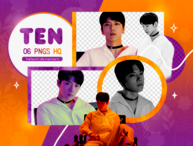 PNG PACK: Ten #2 (Dream In A Dream) by Hallyumi