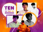 PNG PACK: Ten #2 (Dream In A Dream)