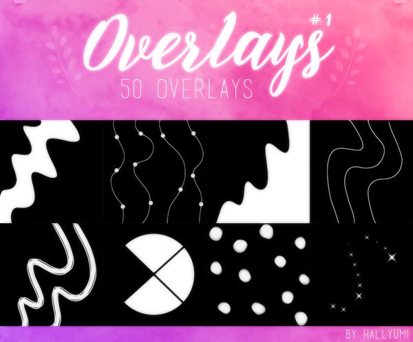 OVERLAYS: Random #1 by Hallyumi on DeviantArt