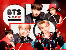 PNG PACK: BTS #50 (Face Yourself) by Hallyumi