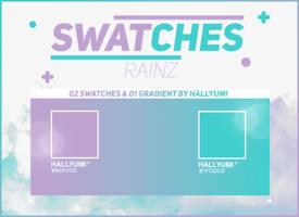 SWATCHES: RAINZ by Hallyumi