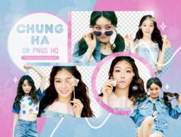PNG PACK: ChungHa #1 by Hallyumi
