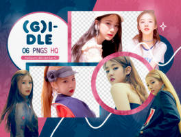 PNG PACK: (G)I-DLE #1 by Hallyumi