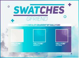 SWATCHES: GFRIEND by Hallyumi