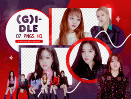 PNG PACK: (G)I-DLE #2 by Hallyumi