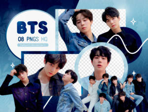 PNG PACK: BTS #52 (Love Yourself 'Tear' R version)