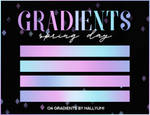 GRADIENTS: Spring Day