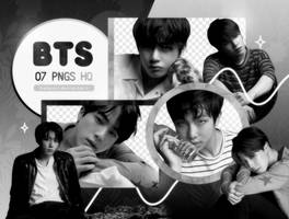 PNG PACK: BTS #56 (Love Yourself 'Tear' O version) by Hallyumi