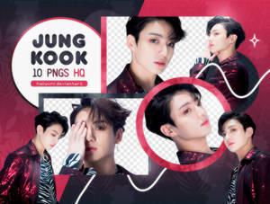 PNG PACK: JungKook #23 (FAKE LOVE)