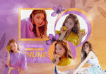 PNG PACK: ChungHa #2 (Blooming Blue) by Hallyumi