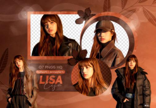 PNG PACK: Lisa #2 by Hallyumi