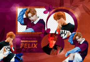PNG PACK: Felix (I am WHO) by Hallyumi