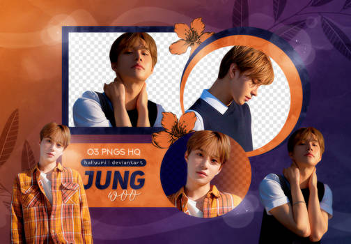 PNG PACK: Jungwoo #2