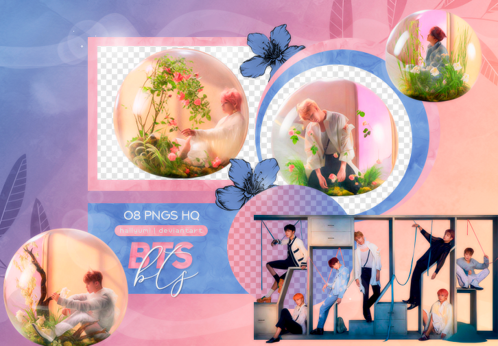 PNG PACK: BTS #60 (Love Yourself 'Answer' E Ver.)