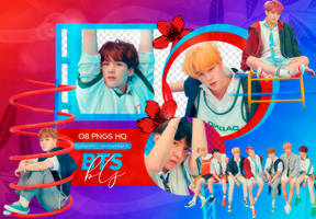 PNG PACK: BTS #61 (Love Yourself 'Answer' F Ver.) by Hallyumi